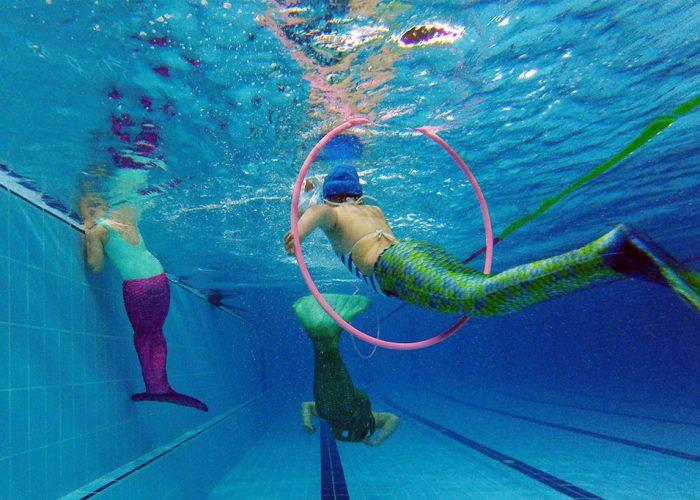 Nueva actividad extraescolar acuática para aprender a nadar como una sirena en Valencia